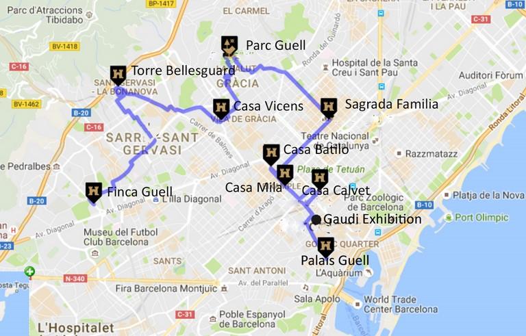 Escale De Croisire Barcelone